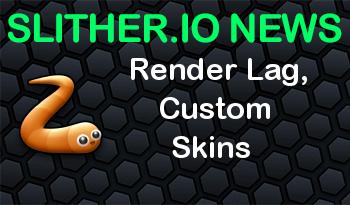 Slither.io Official | Render Lag, Custom Skins